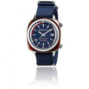 Reloj Clubmaster Diver Acetato Esfera Azul