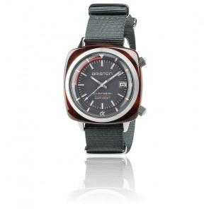 Reloj Clubmaster Diver Acetato Esfera Gris