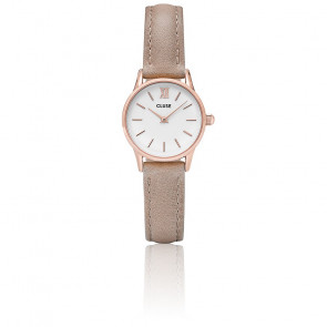 Reloj La Vedette Rose Gold White / Hazelnut CL50027