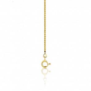Cadena Veneciana 40 cm Oro Amarillo