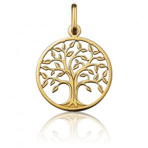 Colgante Árbol de la Vida calado Oro Amarillo 18K