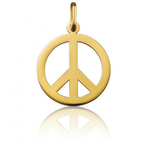 Colgante Peace And Love Oro Amarillo 18K