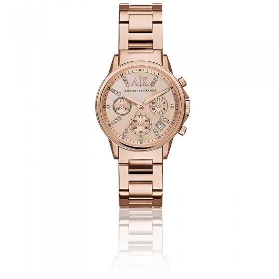 e1e8587da20 Reloj Lady Banks AX4326 Oro Rosa - Armani Exchange - Ocarat