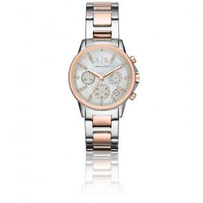 Reloj Lady Banks Silver/Pink AX4331