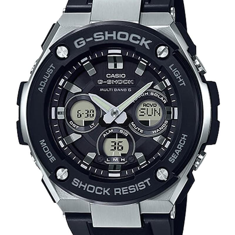 7700b7b897dfa Reloj G-Steel Negro GST-W300-1AER - Casio G-Shock - Ocarat