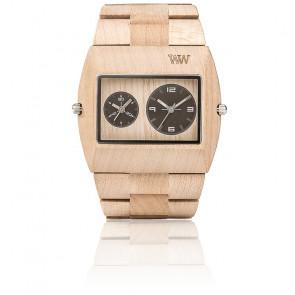 Reloj de madera Jupiter RS Beige