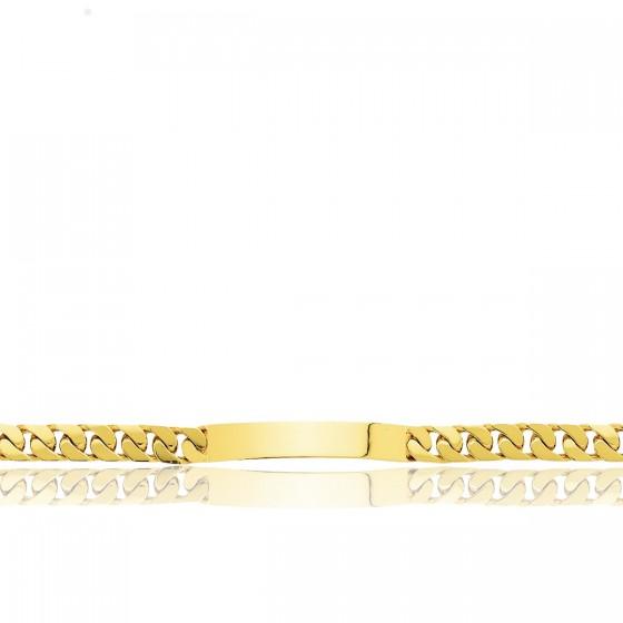 66197fd110ac Pulsera personalizable barbada de tipo esclava de oro 18kt - Ocarat