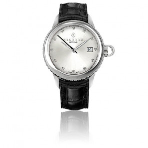 Reloj COLVMBVS 12 Diamantes Estampado cocodrilo CO36QS.361.002