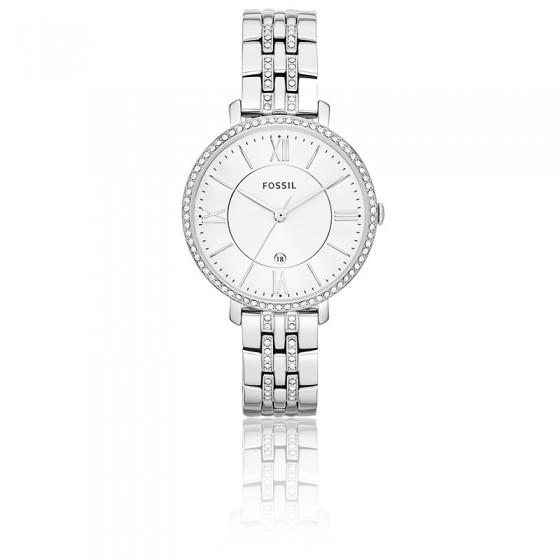 717eb0cbbd4f Reloj para mujer Jacqueline Plateado ES3545- Fossil - Ocarat
