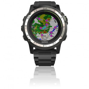 Reloj D2 Charlie 010-01733-33 Titanium Bezel with Titanium and Silicone Bands