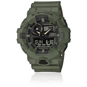 Reloj Clean Utility GA-700UC-3AER