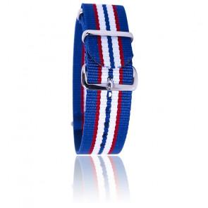 Correa azul/rojo/blanco/azul