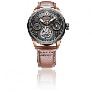 Reloj Extreme Roadster Tourbillon Rose Gold/Brown GA866010.MBR