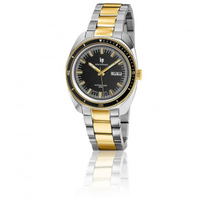 Reloj de buceo Sous-Marinier 39mm Chrome Gold Black 671358