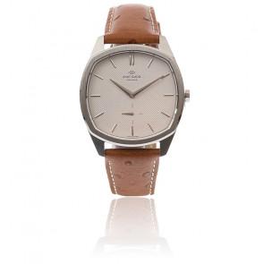 Reloj Decagon /White /Altona /Cuero Marrón 2023