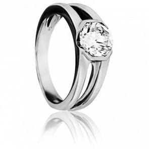 2702500372aa Ocarat Solitario Oro Blanco y Diamante Promesse