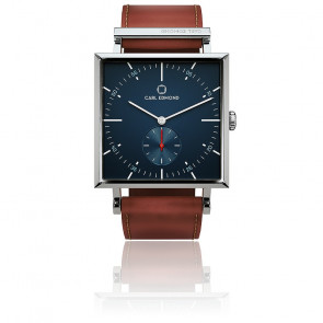 Reloj Granit Navy Blazer Burgundy 34mm