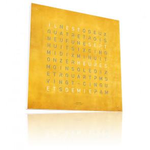 Reloj Qlocktwo Large : Creator's Edition Gold