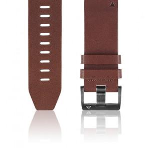 Correa Quickfit cuero marrón 26 mm 010-12517-04 para Fēnix 5X