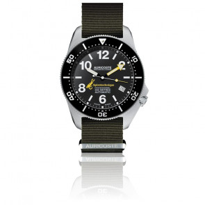 Reloj Spirotechnique 300M Black DLC A9102 Correas Nato & Tropic