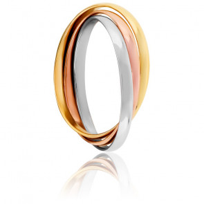 Anillo 3 Oros Finesse 1,5mm