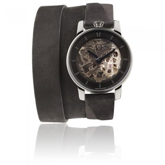 Reloj de diseño Rehab 360 Silver Triple Wrap - Fob Paris - Ocarat