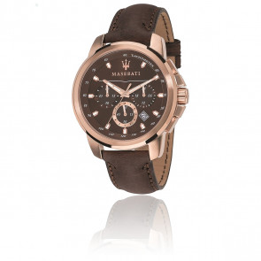 Reloj Successo Chrono Brown R8871621004