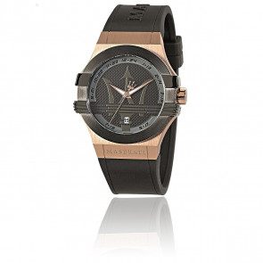 Reloj Potenza Black/Rose Gold R8851108002