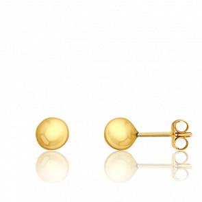 Pendientes Esferas 5 x 5 mm Oro Amarillo 9K