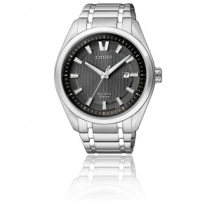 Citizen Titanium Eco-Drive Black AW1240-57E
