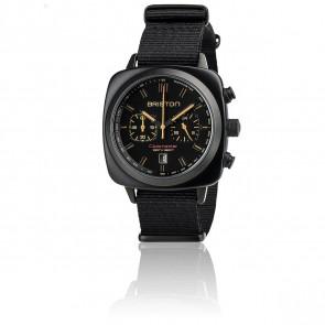 Reloj Clubmaster Sport Acetato Crono - Negro Mate
