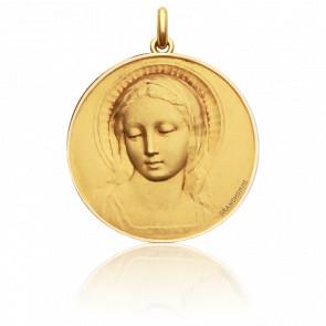 Medalla redonda Virgen Amabilis