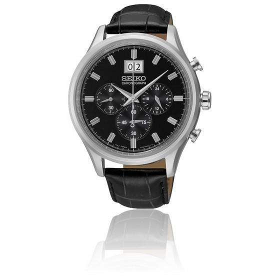 48fbbc104e81 Reloj Negro Clásico para Hombre de Seiko SPC083P2 - Ocarat