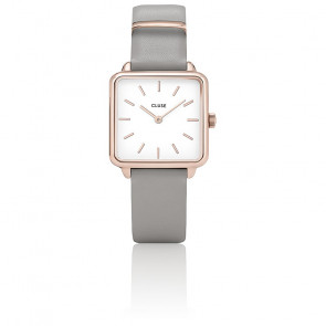 Reloj La Garçonne Rose Gold White/Stone Grey CL60005