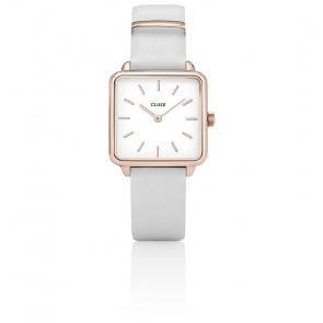 Reloj La Garçonne Rose Gold White/White CL60006