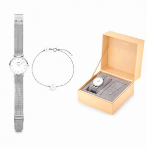 Estuche regalo Cluse Minuit Heart Silver CLG011