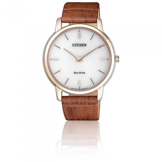 4858cbd259ad Reloj clásico hombre Citizen Eco-Drive Stiletto AR1133-15A - Ocarat