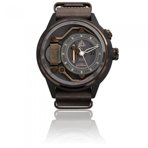 409c99e52c2c Reloj de diseño industrial The Mokaz - The Electricianz - Ocarat