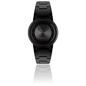 Montre Red Solar Matte Black