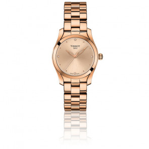 Reloj T-Wave Pink Gold - T112.210.33.456.00