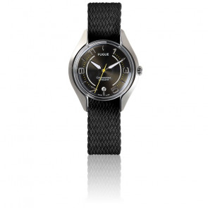acaad5a52b1c Fugue Reloj Chronostase Black Metal   Acier