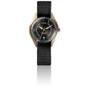 Reloj Chronostase Black Metal / Gold