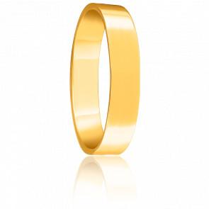 Alianza Bonheur 4 mm Oro Amarillo