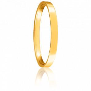 Alianza de boda Bonheur Parisien 2 mm Oro Amarillo