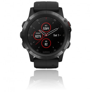 Reloj Fēnix 5X Plus Black Sapphire 010-01989-01