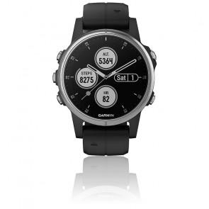 Reloj Fēnix 5S Plus Plata 010-01987-21