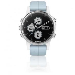Reloj Fēnix 5S Plus Silver 010-01987-23