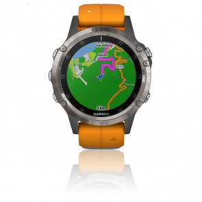 Reloj Fēnix 5 Plus Orange 010-01988-05
