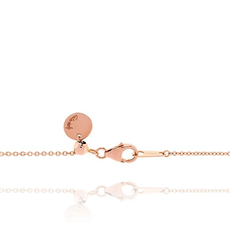 44ee97c948c3 Pulsera de oro rosa 18K Love - Caterina B - Ocarat