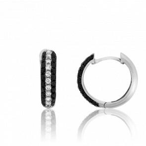 Pendientes Pradesh Diamantes Negros